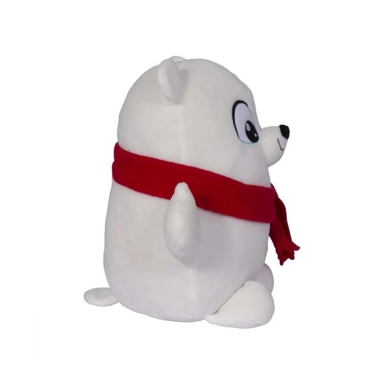 Jucarie de plus interactiva Snuggle N Hug - Urs polar