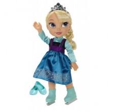 Papusa Elsa Frozen Disney patinatoare