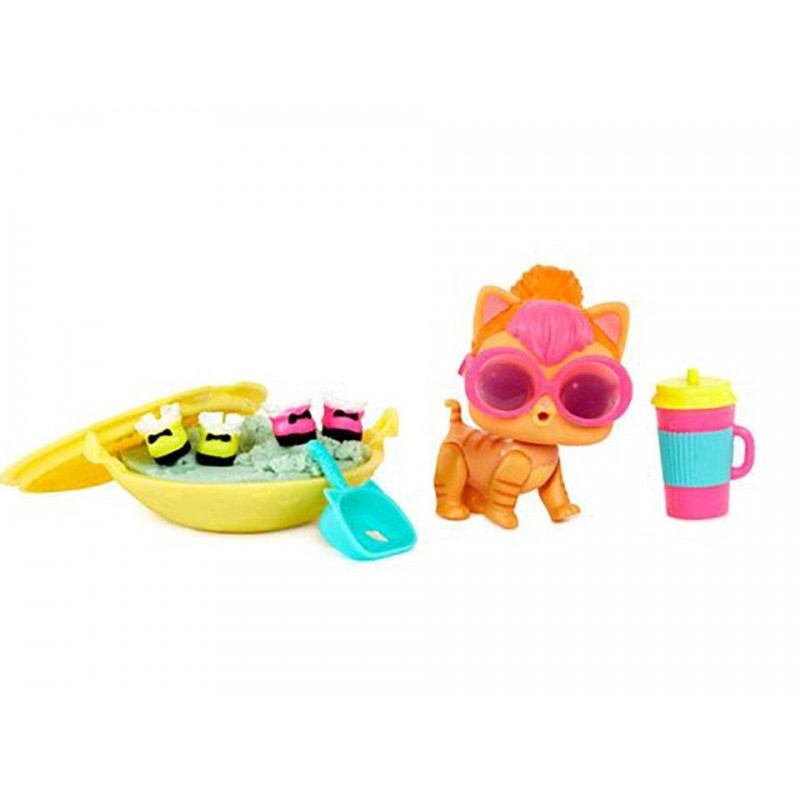 Papusa LOL Surprise Ball - Pets, 7 piese (Seria 3-1A)