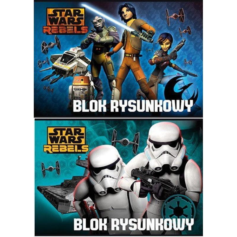 Bloc de desen A4 Star Wars Disney