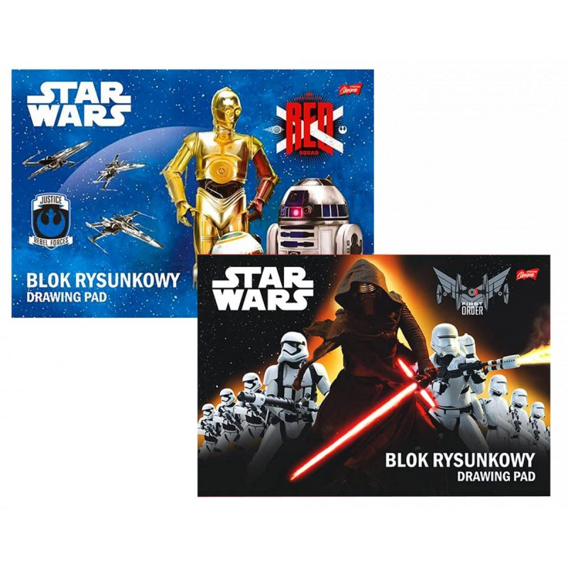 Bloc de desen A4 Star Wars Disney