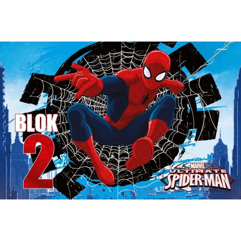Bloc de desen A4 Spiderman
