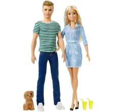 Papusa Barbie, Ken si catelus