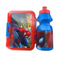 Set cutie pranz si recipient apa Disney - Spiderman