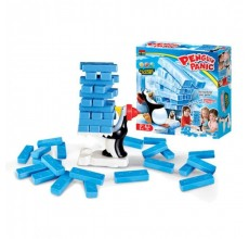 Joc de societate - Turnul Instabil cu pinguin