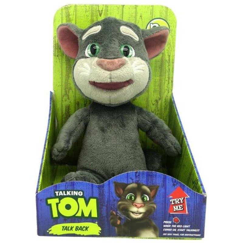 Talking Tom - interactiv din plus