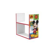 Etajera din lemn pentru depozitare jucarii Mickey Mouse Disney