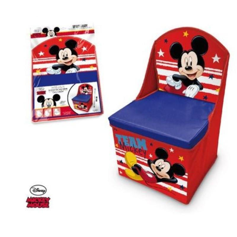 Scaun si cutie pentru depozitare Mickey Mouse Disney