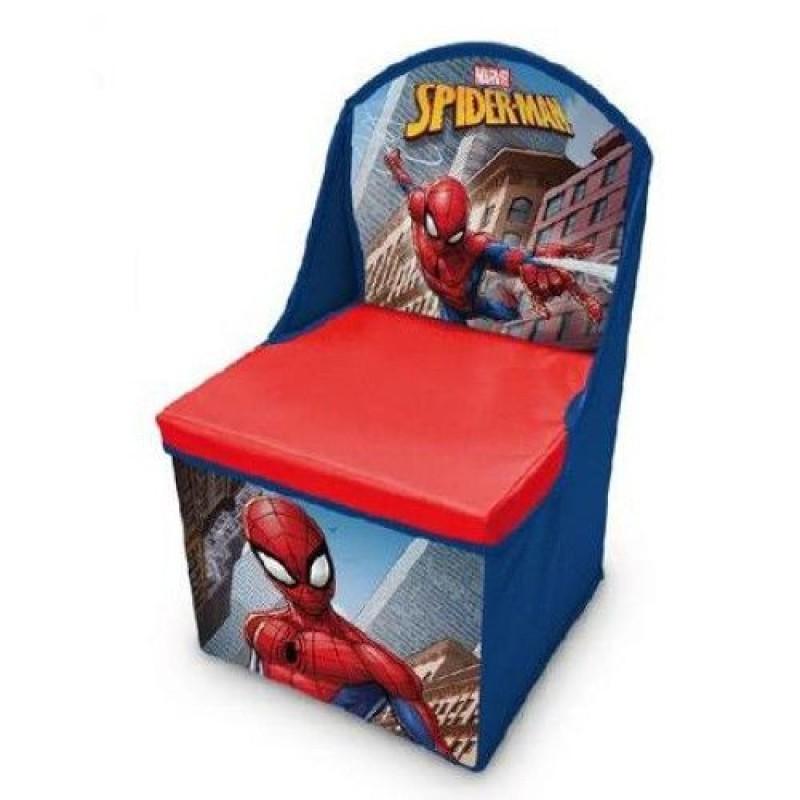 Scaun si cutie pentru depozitare Spiderman