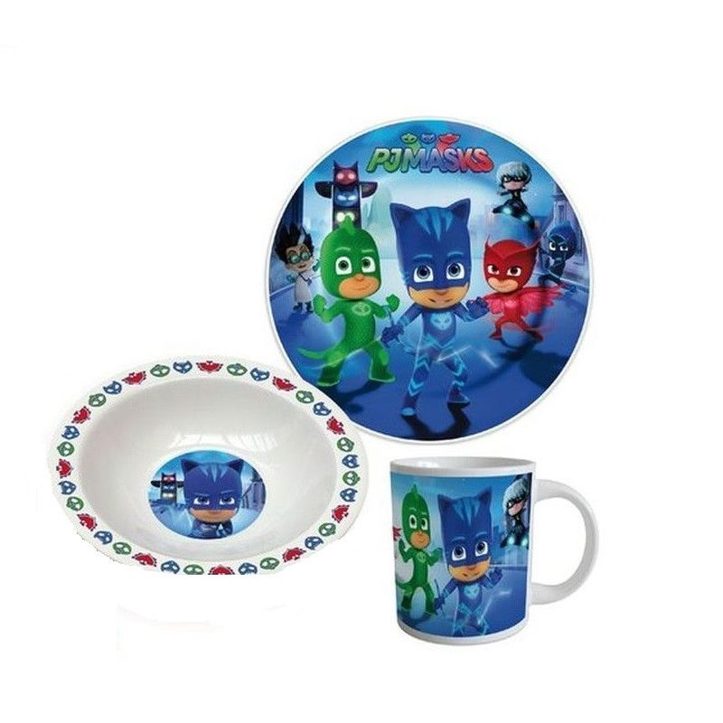 Set mic dejun Eroi in Pijama Disney - ceramica