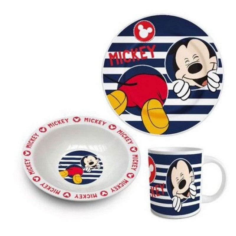 Set mic dejun Mickey Mouse Disney - ceramica