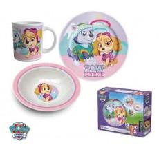 Set mic dejun Paw Patrol Girl - ceramica