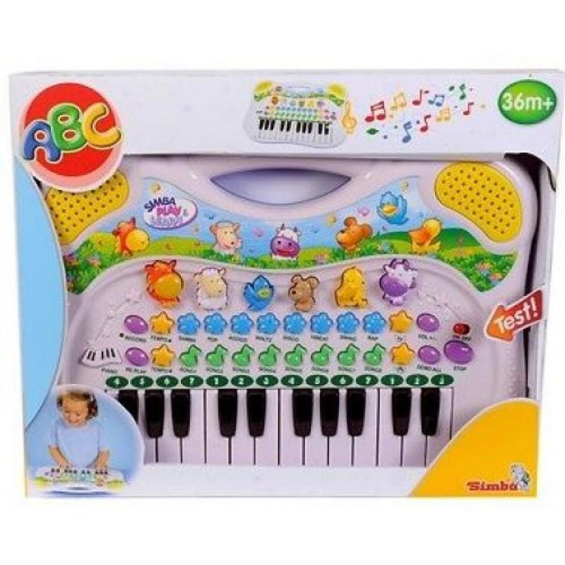 Jucarie bebe Orga muzicala cu sunete de animale