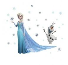 Decor pentru camera copilului - Frozen Disney 3D