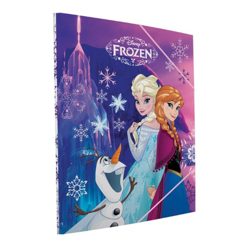 Mapa A4 cu elastic Frozen Disney