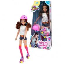 Papusa Soy Luna Disney patinatoare originala