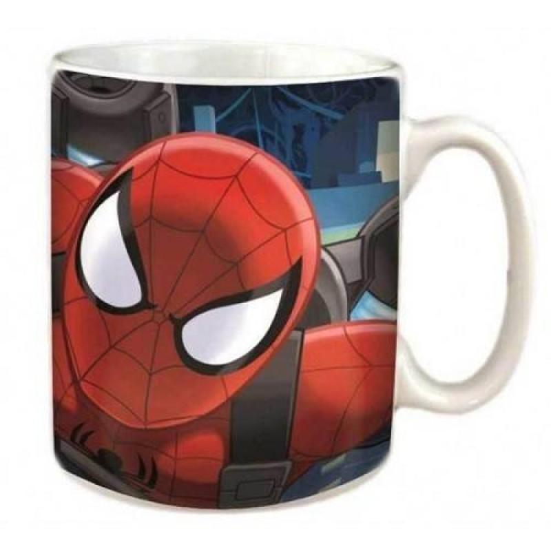 Cana ceramica Spiderman