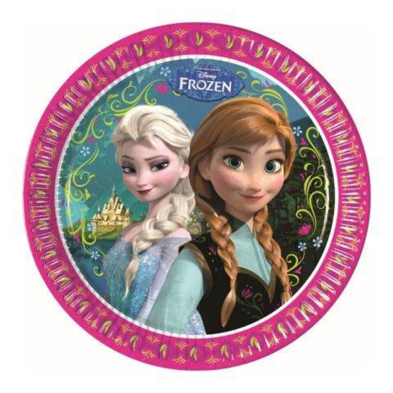 Farfurii party carton Frozen Disney