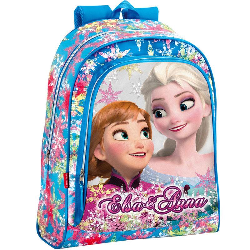 Ghiozdan tip rucsac scoala Elsa si Anna Frozen Disney