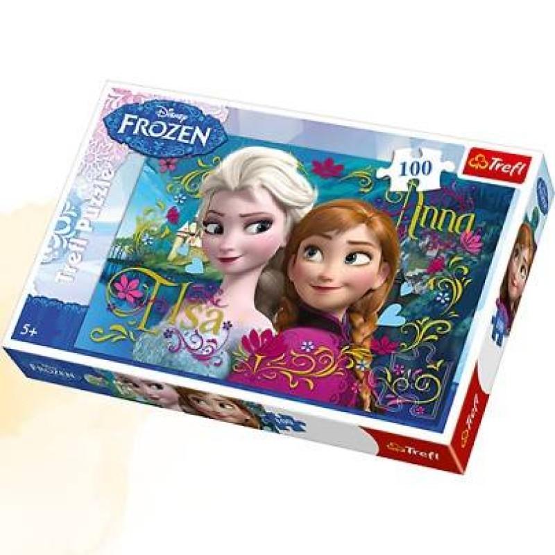 Puzzle Frozen Disney 100 piese